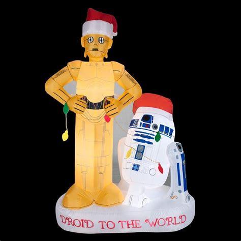 star wars outdoor christmas inflatables christmas wikii