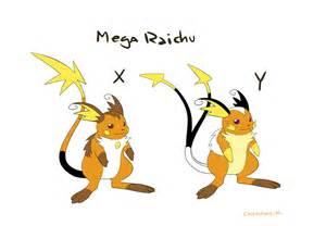 Mega Raichu X Y