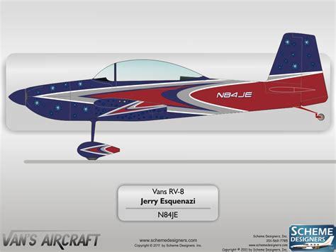 Vans Aircraft Paint Schemes, Vans, Free Engine Image For