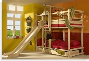 Kinderzimmer Für Zwei Jungs : hochbett mit rutsche spa im kinderzimmer ~ Michelbontemps.com Haus und Dekorationen