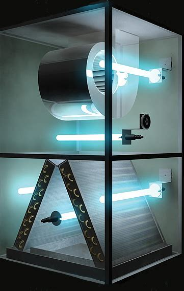 UV Light Cleanser Installation   Eco Green Air   HVAC