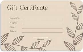 Free photography gift certificate template download options for leaf branches art gift certificate template free photography gift certificate template yelopaper Gallery
