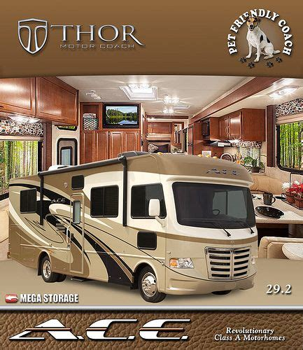 The A.C.E. RV is the Best Small Class Class A Motorhomes