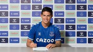 Everton Signs James Rodriguez From Real Madrid | myv949.com