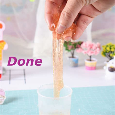 Diy Slime Kit Colorful Crystal Clay Snow Mud Jelly Magic