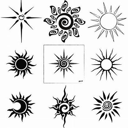 Tattoo Sun Drawings Simple Tattoos Minimal Henna
