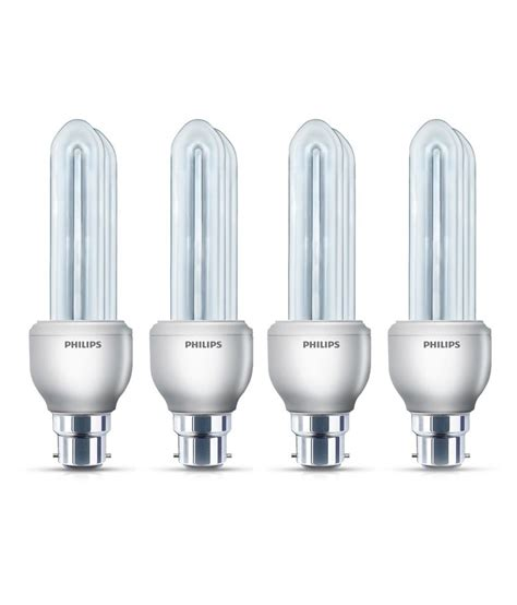 philips essential bulbs cfl  watt set   buy philips