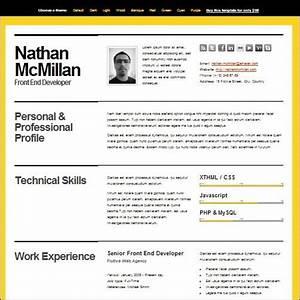 splash magazine 35 best cv and resume templates splash With best cv template