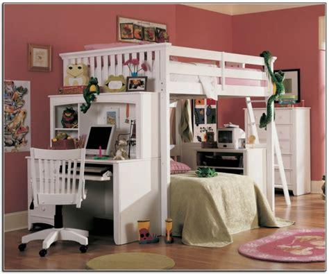 chambre fille lit mezzanine le lit mezzanine et bureau plus d 39 espace archzine fr