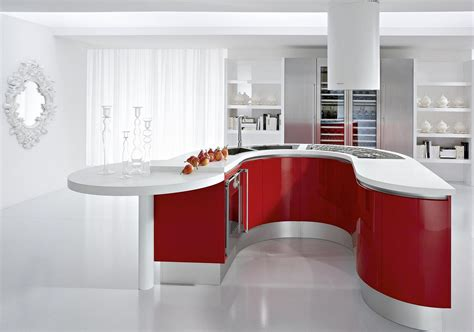 Best And Cool Red Kitchen Cabinets For Dream Home