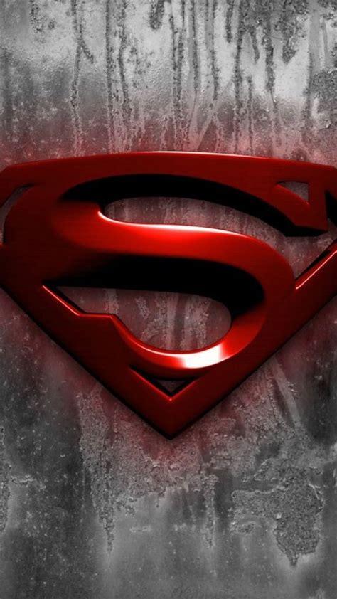 iphone   superman logo hd wallpaper superman