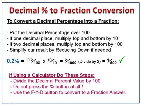Fraction Decimal Percent Conversion Chart  Fractions Decimals And Percents Sticker Pack Carson