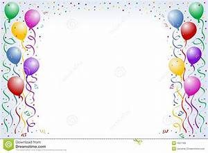 Balloons And Confetti Stock Photos - Image: 1607183