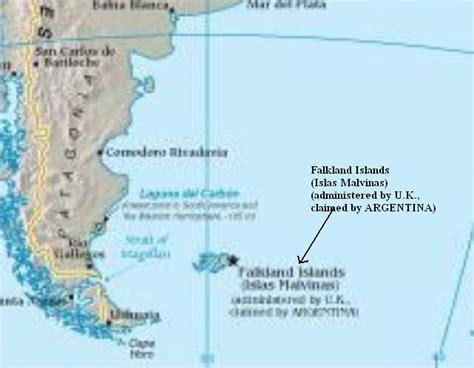 """Para el diario """"La Nación"""" son las Falkland Islands"""