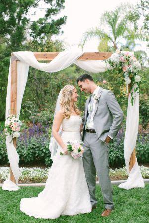 romantic meets rustic backyard wedding backyard wedding
