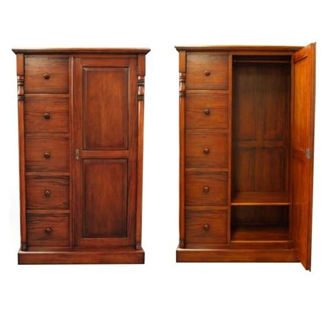 Wardrobe With Drawers And Hanging by Gentleman S Wardrobe Mahogany Akd Furniture
