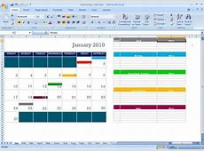Marketing Calendar Schedule Template Tool