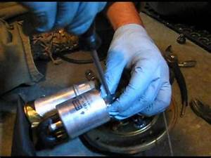 How To Change Fuel Filter  U0026 Pump On Bmw 1150gs Motorcycle