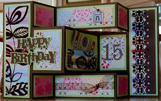 Trifold Template Album Ideas by Simply Grace Tri Fold Shutter Card