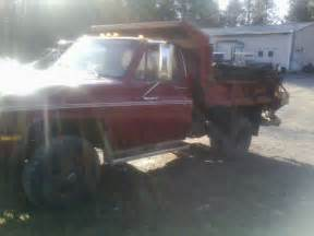 1984 Chevy 4 X 4 Dump Truck