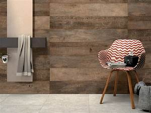 Carrelage Immitation Bois : carrelages murs ~ Nature-et-papiers.com Idées de Décoration
