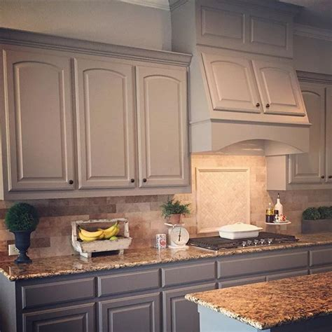sw kitchen cabinets paint color sw 7018 dovetail from sherwin williams