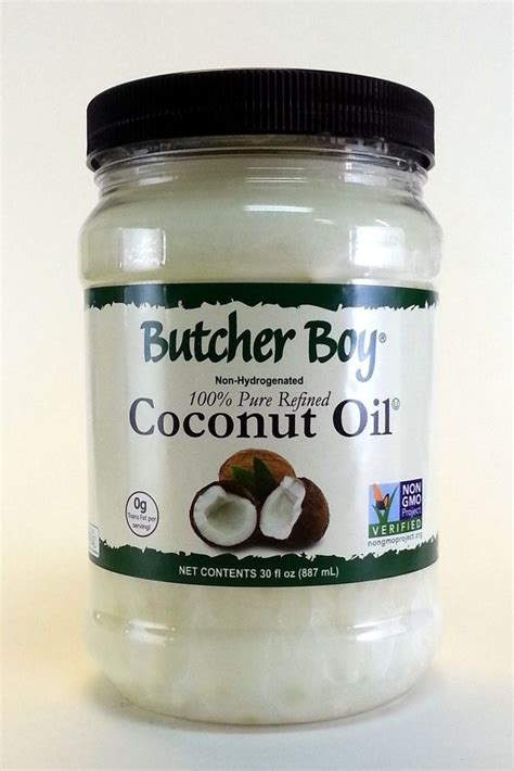 butcher boy coconut oil 30 ounce 100 pure refined