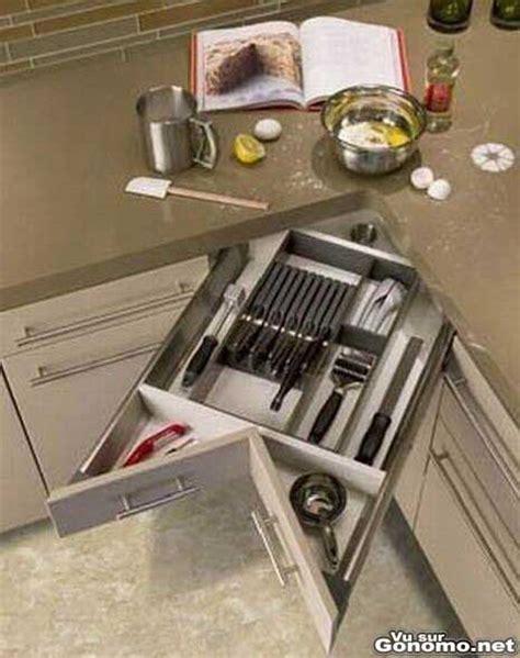 tiroir angle cuisine tiroir d angle pour la cuisine pratique ce tiroir qui a en plus le merite d etre design