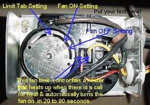 Fan Limit Control Wiring Diagram