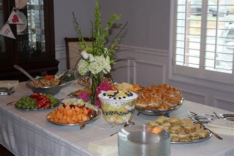 food ideas for bridal shower the kitchen ette bridal shower food ideas