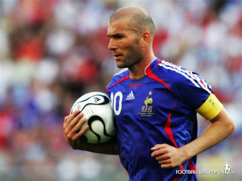 Along with the neighbourhood children, he played the game at the. Zinedine Zidane - Football