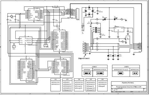 Ponyprog Circuit For Atmel Avr Electronics Lab