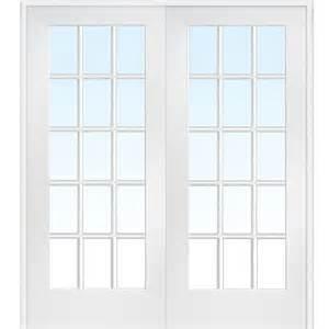 interior glass doors home depot mmi door 73 5 in x 81 75 in clear glass 15 lite interior door z009322ba