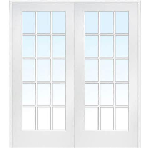 Depot Glass Doors Interior by Mmi Door 72 In X 84 In Both Active Primed Composite