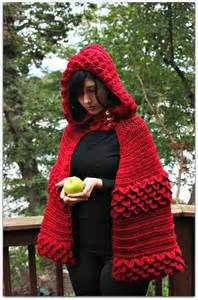 CROCHET PATTERN: Crocodile Dragon Stitch Hooded Cape - Permission to Sell Finished Product