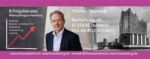 Smart Leasing Hamburg : thomas heinrich smart marketing einfach schneller erfolgreich ~ Pilothousefishingboats.com Haus und Dekorationen