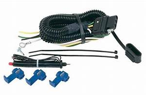 Hoppy 46105  Universal Wiring Harness 4 Wire Flat Kit