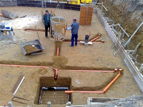 grundleitung unter bodenplatte bodenplatte grundleitung architekturb 252 ro dipl ing monika winggen architektur und design