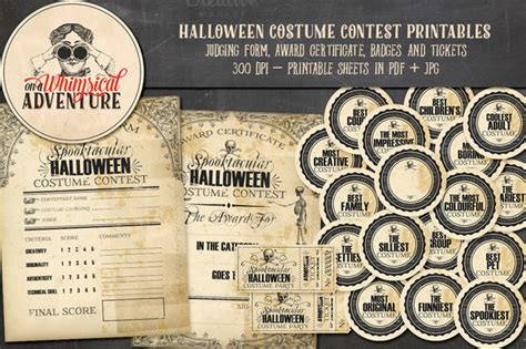 halloween costume score sheet festival collections
