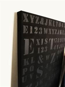 plaque de zinc quotexistquot photo de peinture et cadres l With commentaire peindre du zinc