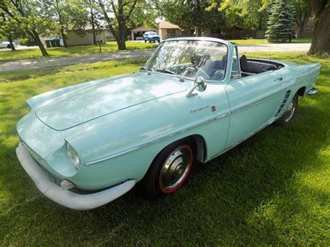 renault dauphine convertible 1961 renault caravelle rare car convertible roadster