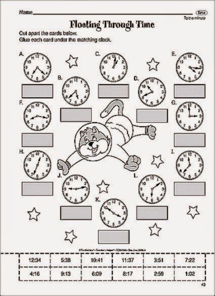 Fun Math Worksheets Third Grade Homeshealthinfo