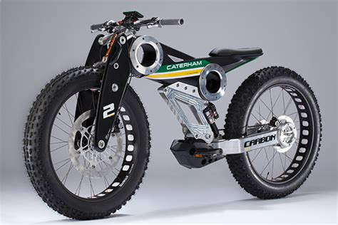 Caterham Gets Into Bikes With Full Suspension E-fat Bike