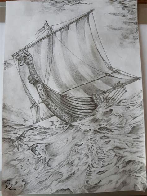 Viking Boat Drawing by 1000 Ideas About Viking Ship On Viking