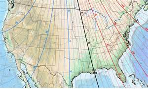 Magnetic Declination Map 2017