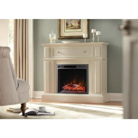 home depot electric fireplace home decorators collection ludlow 44 in media console