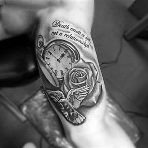 Tattoo Leben Und Tod : inner arm tattoos for men ideas and inspiration for guys ~ Frokenaadalensverden.com Haus und Dekorationen