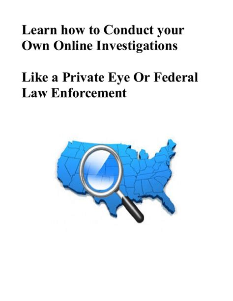 how to conduct a phone how to conduct investigations like the fbi