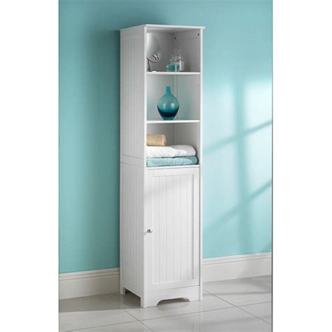 tall bathroom cabinet storage