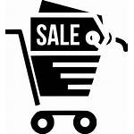 Icon Shopping Cart Discount Offer Svg Finance